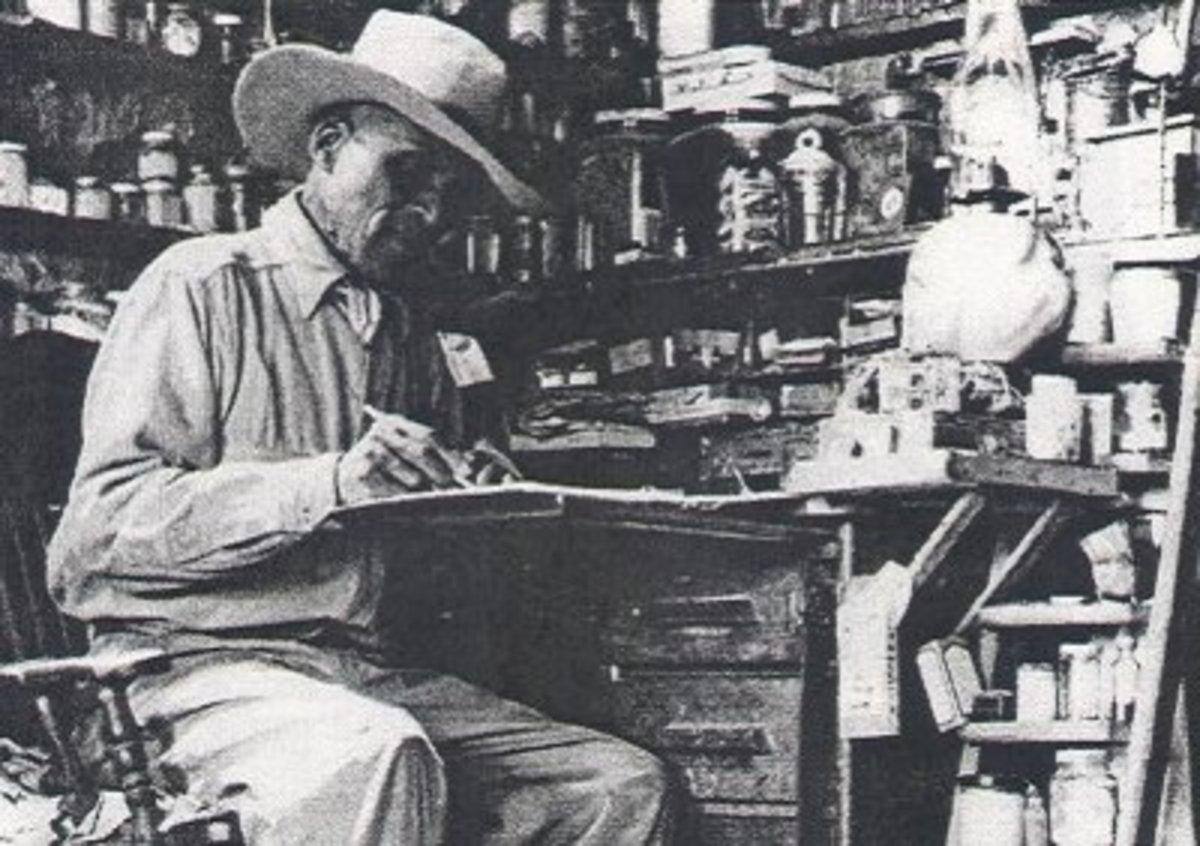 Island Smith, Root Doctor, Born 1877