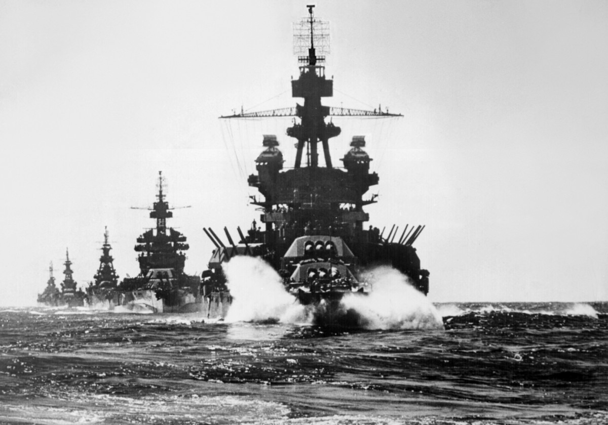 US Capital Ships in the Pacific