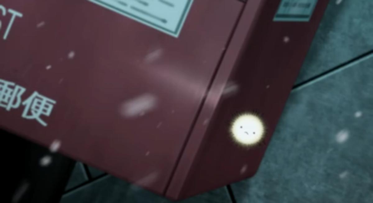 Yukine in his spirit form in Noragami Episode 2.
