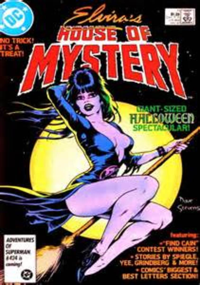 Elvira House of Mystery
