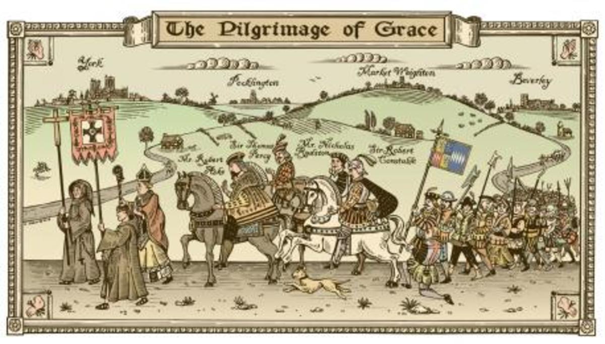 Pilgrimage of Grace.