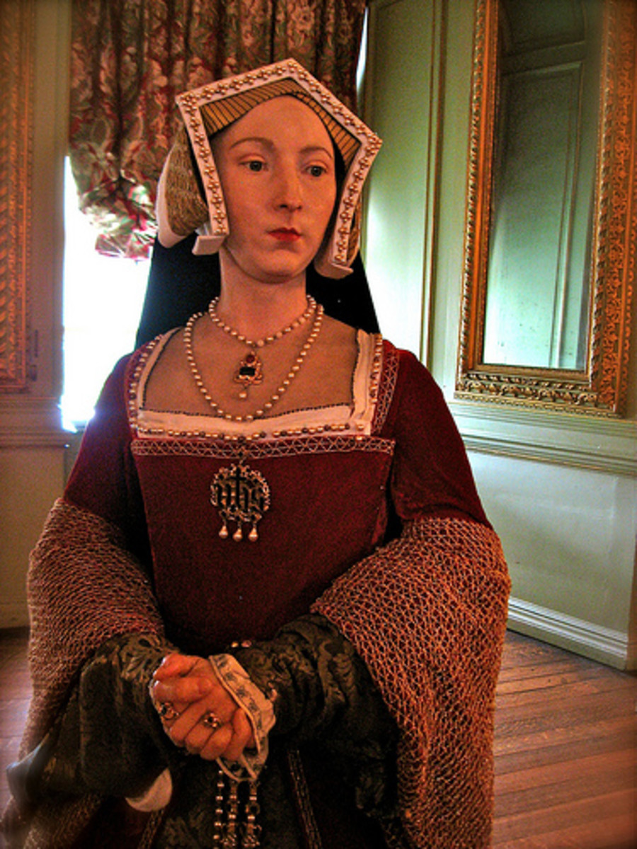 Queen Jane Seymour in three-dimensional form.