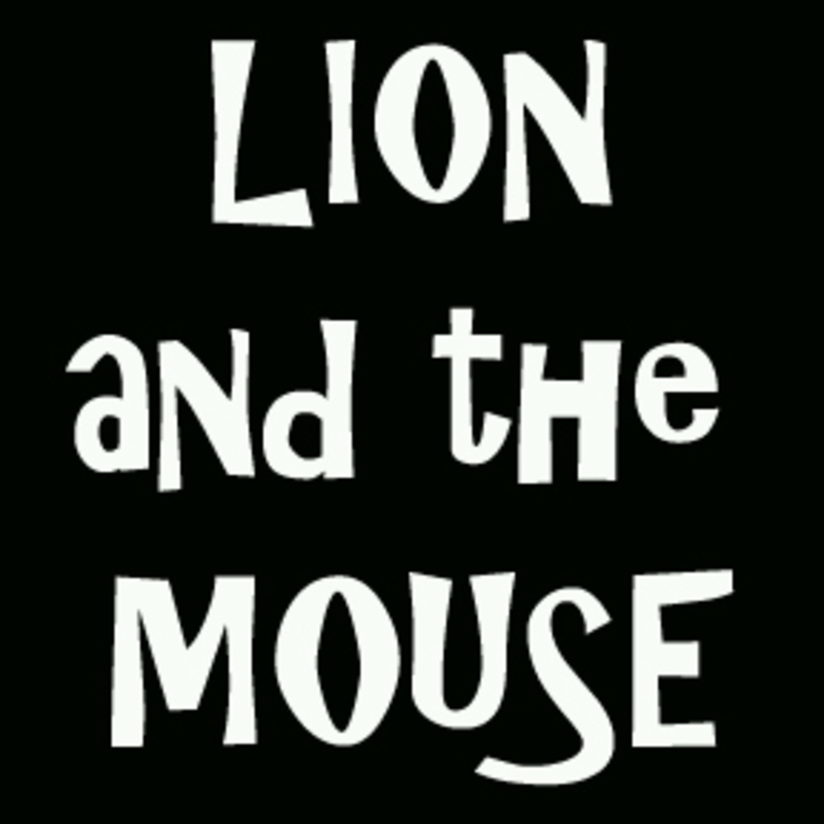 Modern Reimagining of Aesop's Fables: The Lion and the Mouse