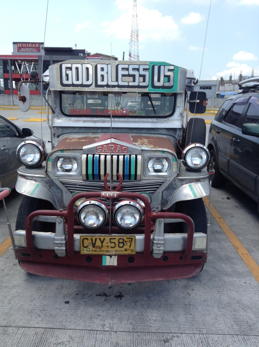 This is a common form of public transportation throughout the Philippines.