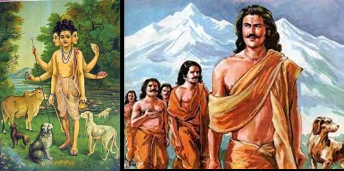 Indian Dog history since era of Ramayan and Mahabharata