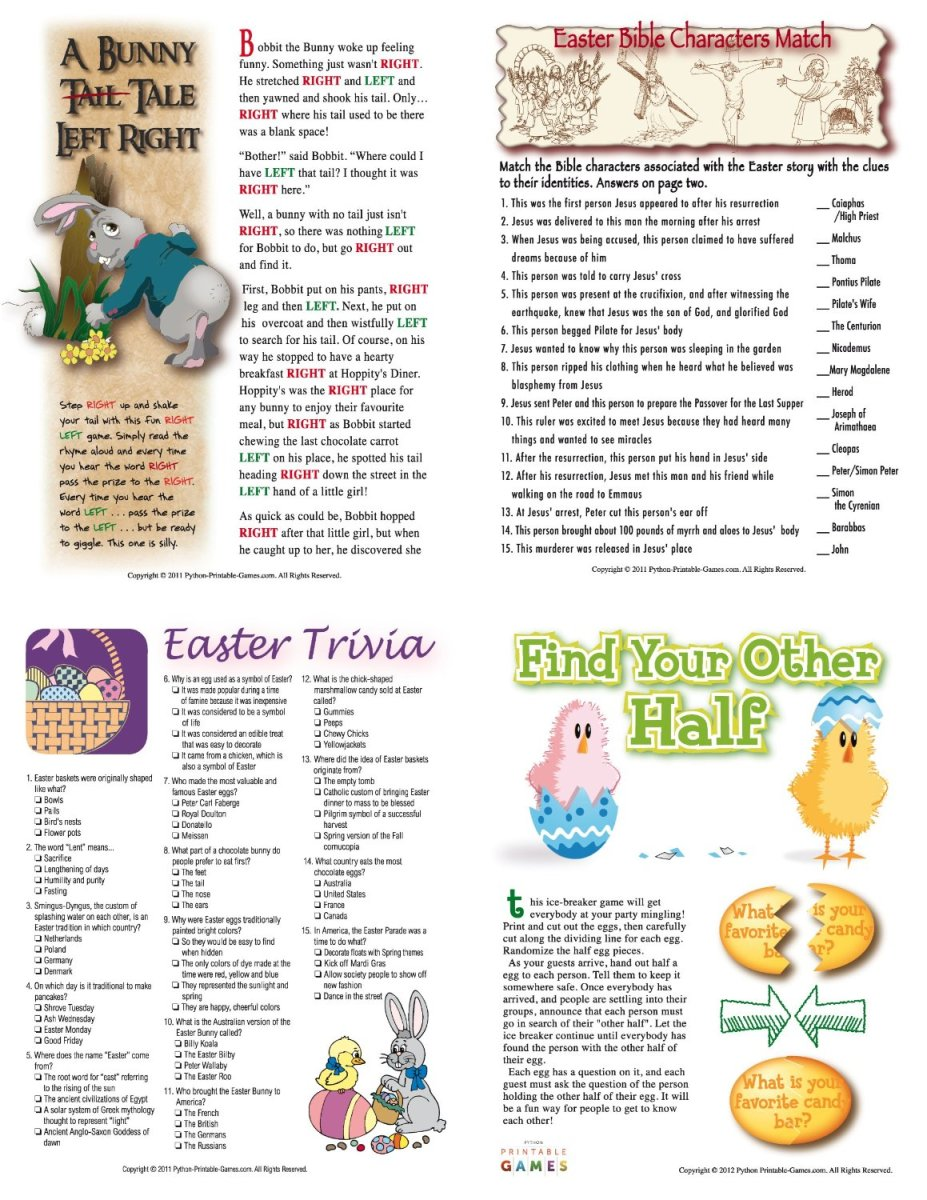 Resource image with spring trivia questions and answers printable
