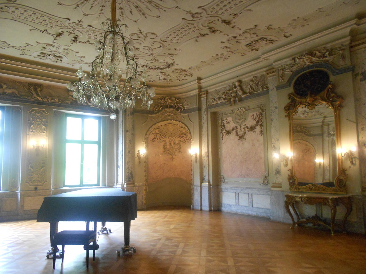 Interior of the Bückeburg Palace