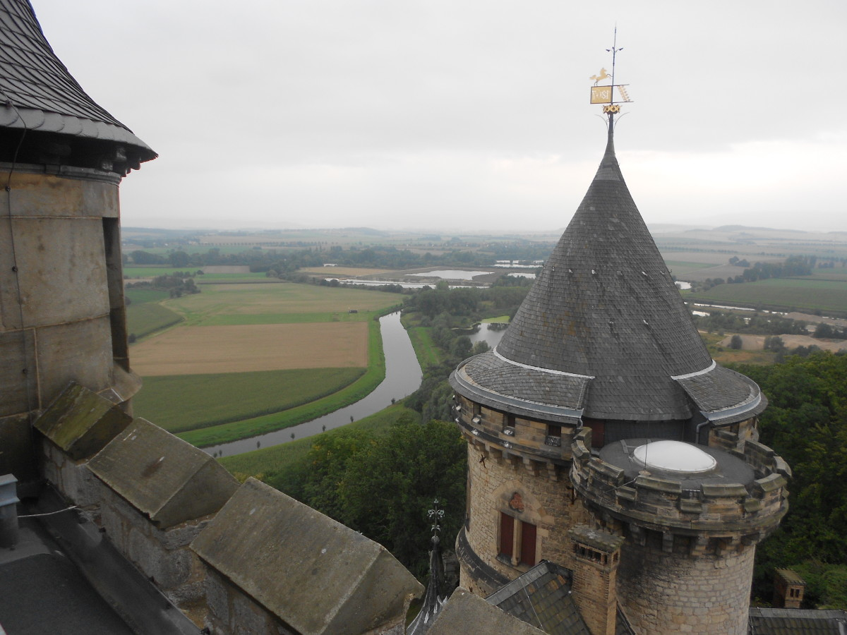 View from Marienburg Castle Tower