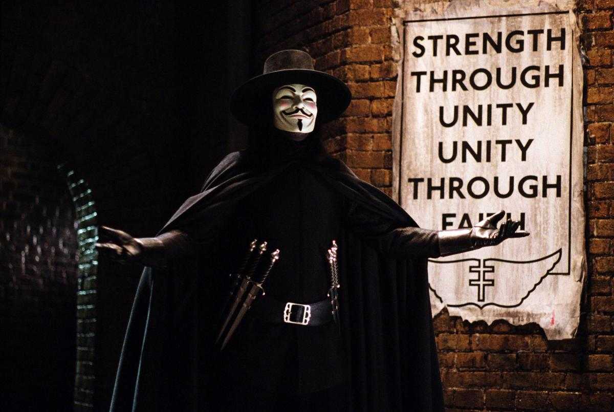 "10 Movies Like ""V for Vendetta"""