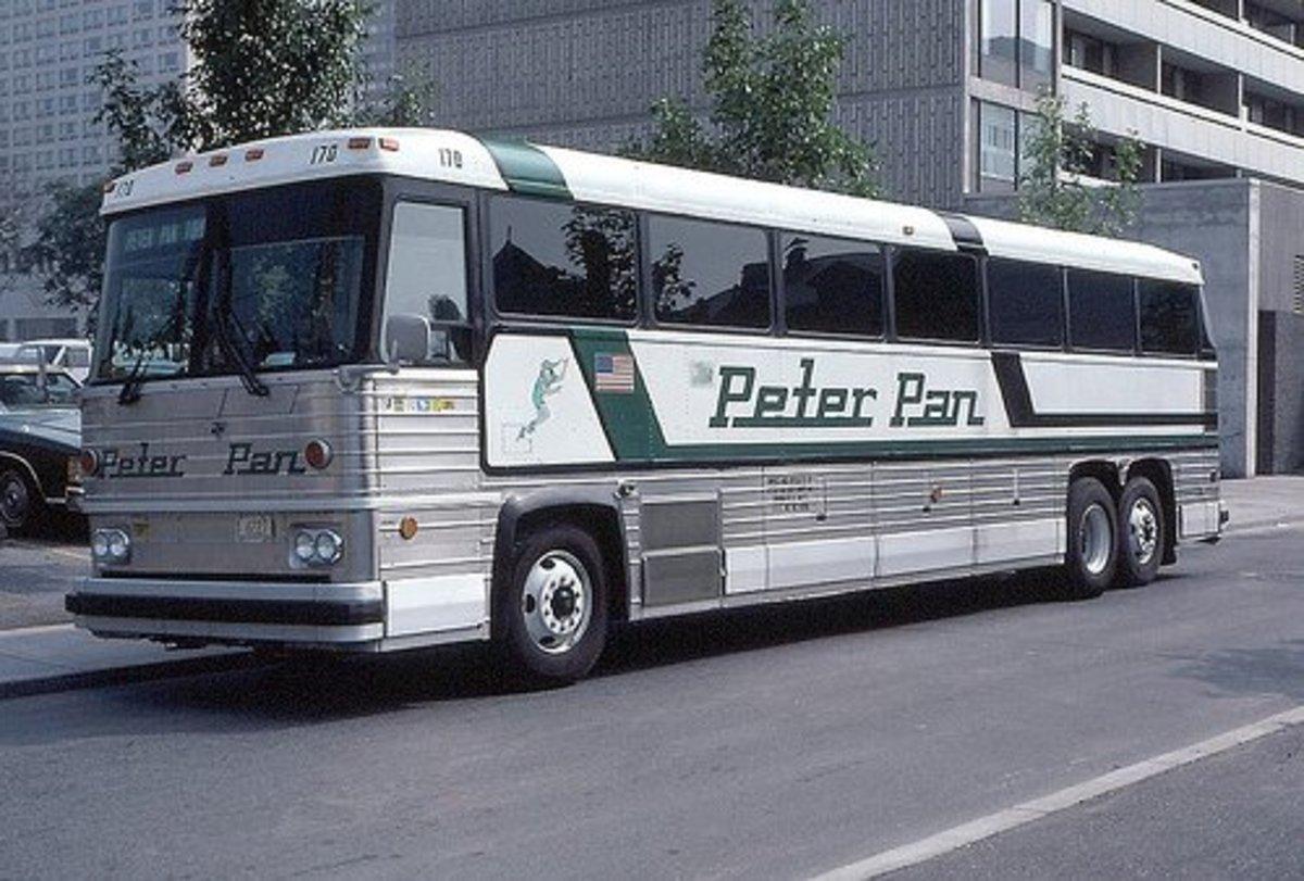 Peter Pan Bus #170 circa 1979