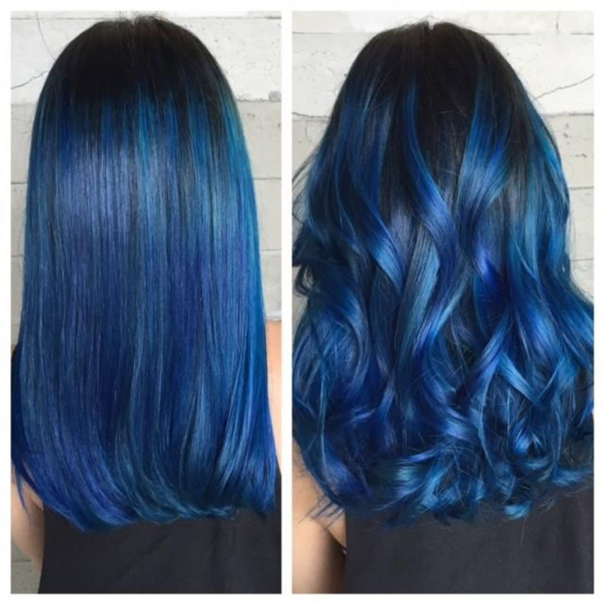 Blue Black Hair How to Get It Right  The Right Hairstyles