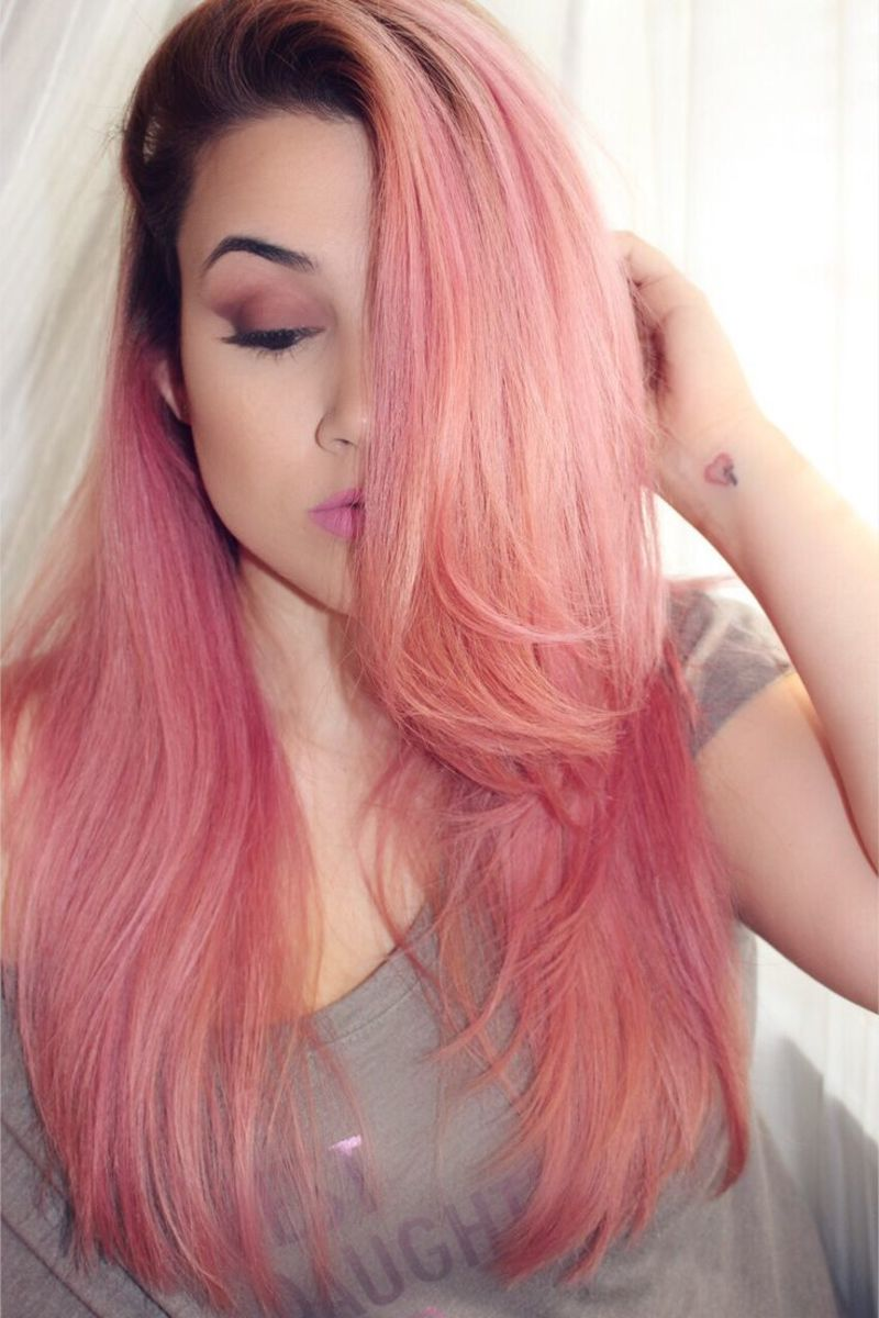Diy Hair 10 Pink Hair Color Ideas Hubpages