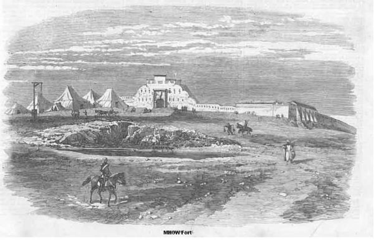 Sketch of the Mhow Fort