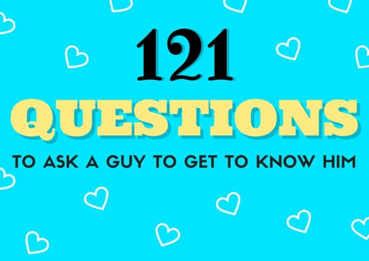 121 Questions to Ask a Guy to Get to Know Him