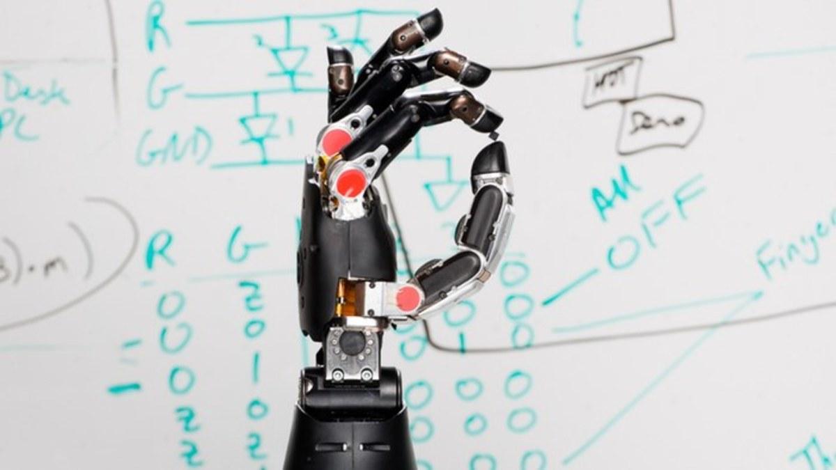 Modular robotic hand