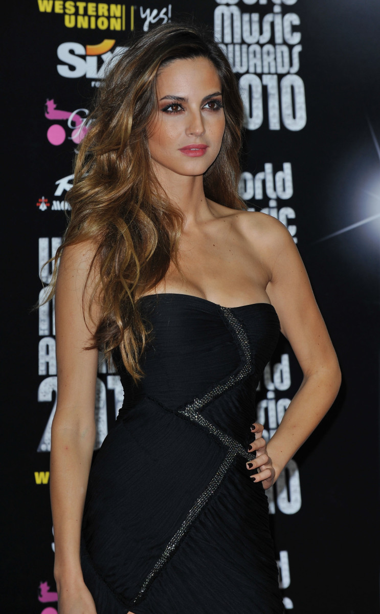 Ariadne Artiles is at the 2010 World Music Awards.