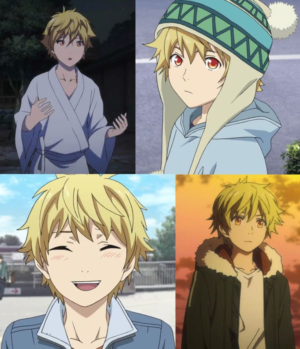 Outfits throughout the series.
