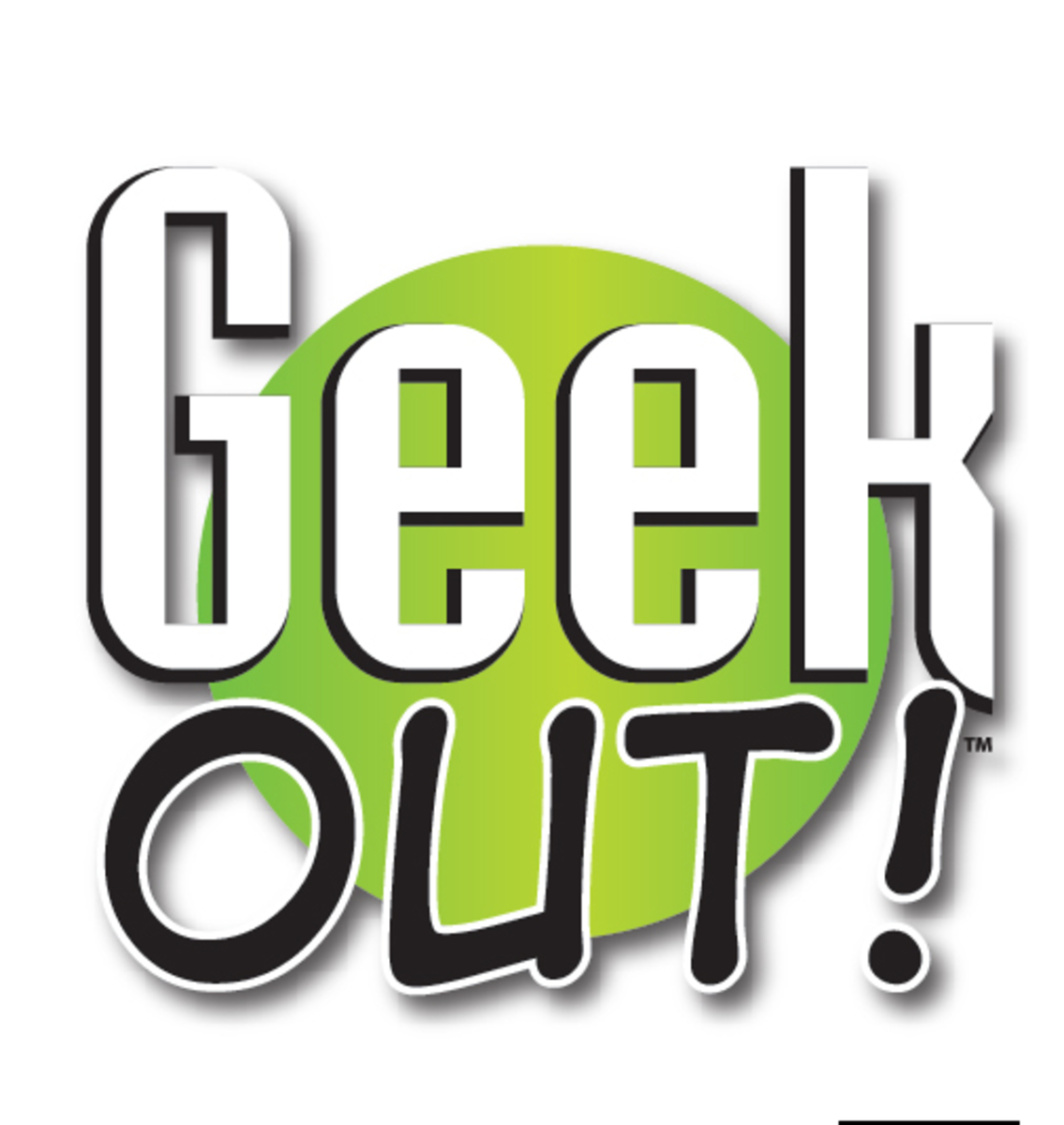 The logo for the trivia game Geek Out!