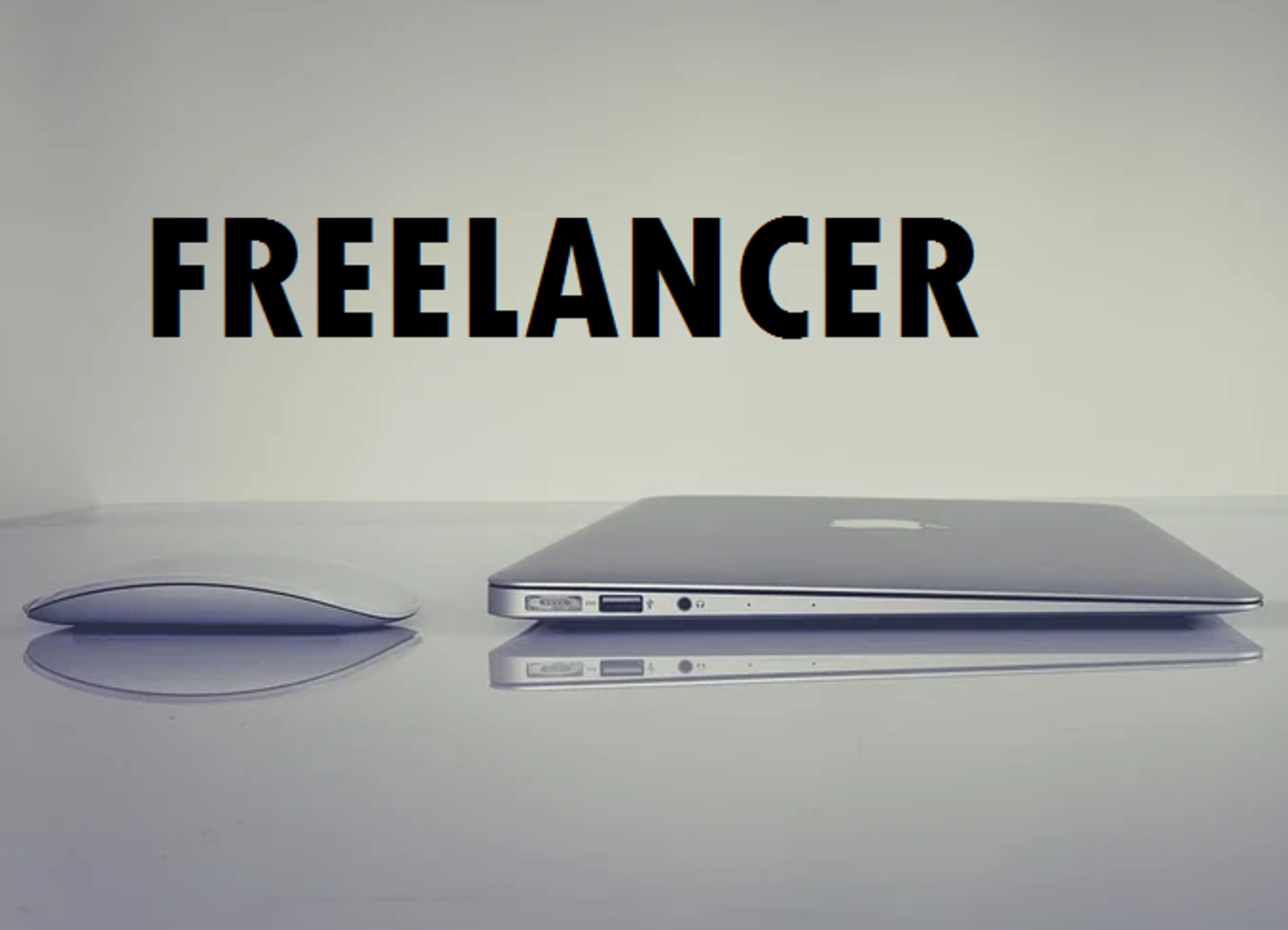 Some freelance jobs only require the use of a computer.