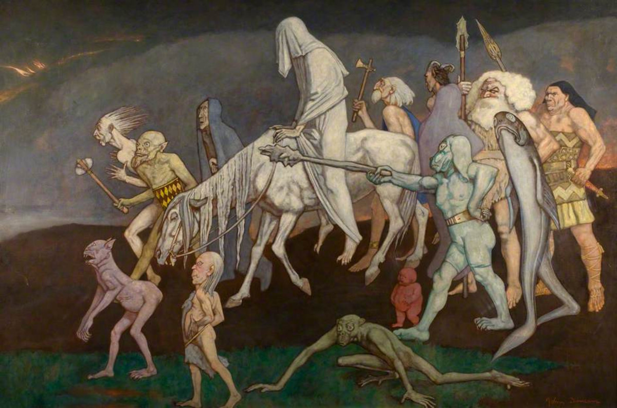 The Fomorians (John Duncan, 1912)