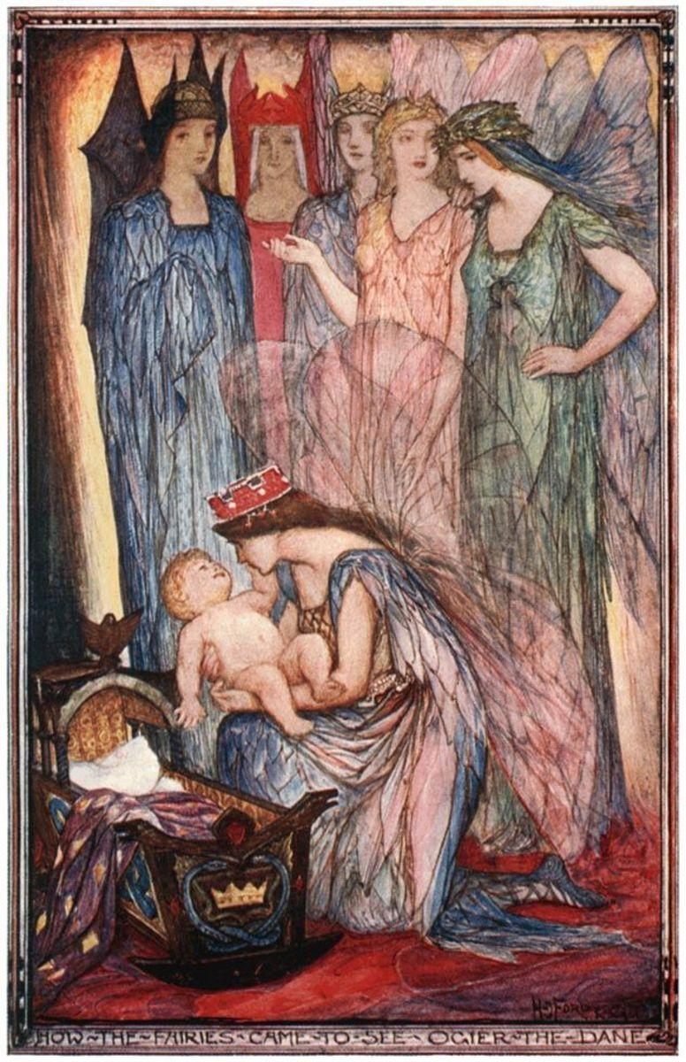 The Tuatha de Danaan (Andrew Lang 1902)