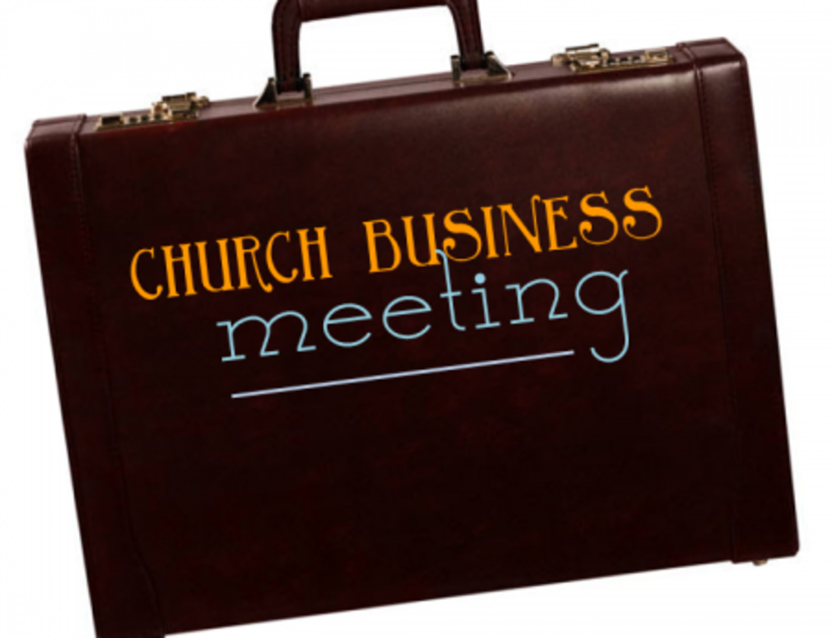 What is Called 'Church' is Big Business