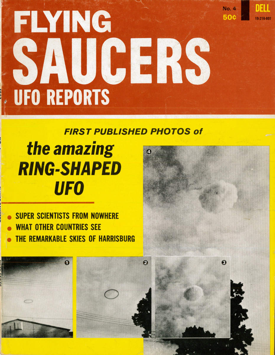 The first published Photoshop of the amazing ring shaped UFO; Plus super scientist from nowhere, what other countries see, and the remarkable skies of Harrisburg.