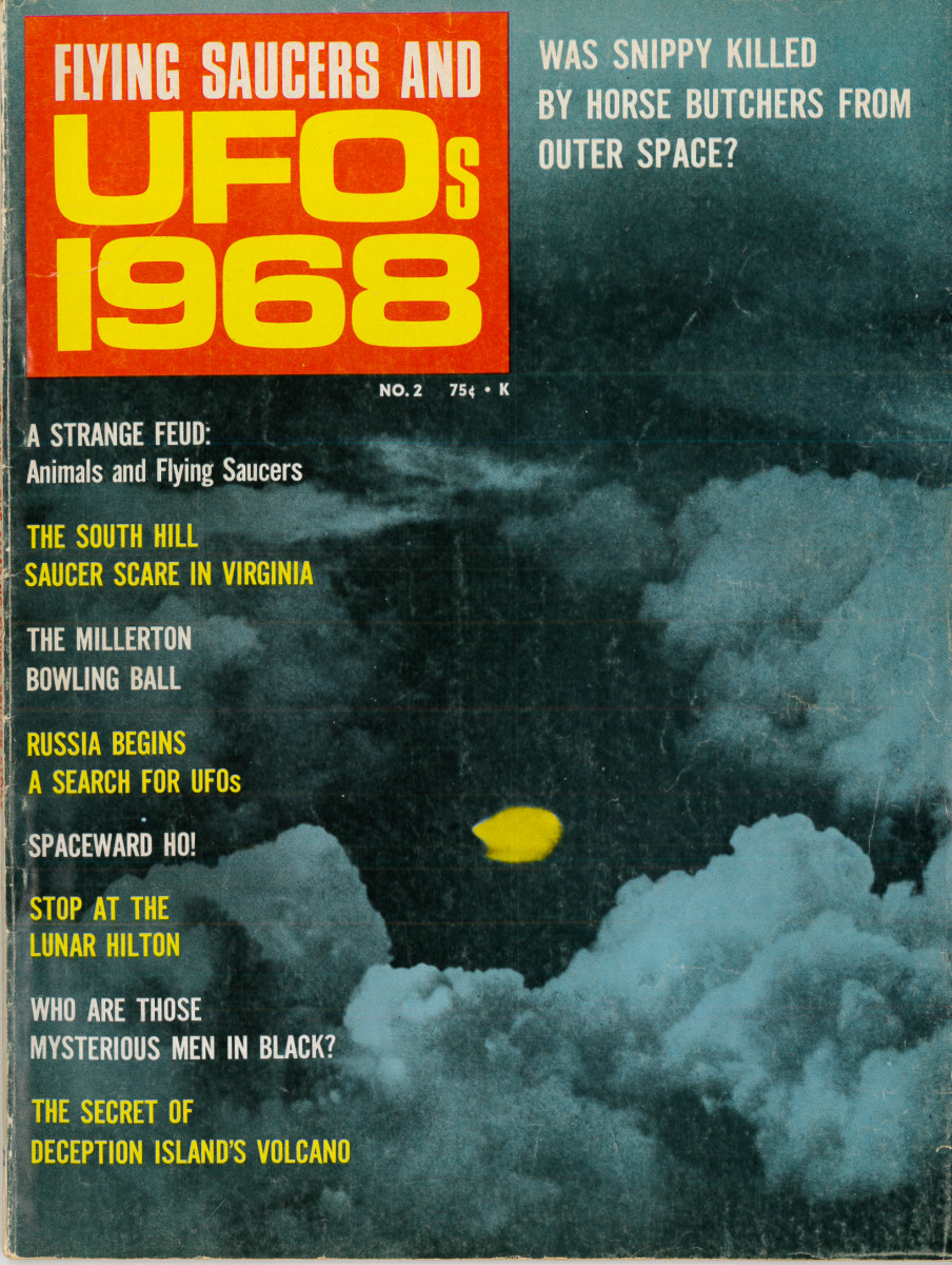 In the golden age of UFOs the flying saucer faithful were making plans to attend the 1968 Congress of Scientific UFologists, withc was scheduled to be held at Cleveland, Ohio, on June 21st to the 23rd. Would love to have a time machine and go :)