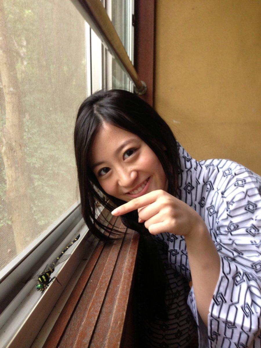 Kei Jonishi dressed in a kimono as she smiles.