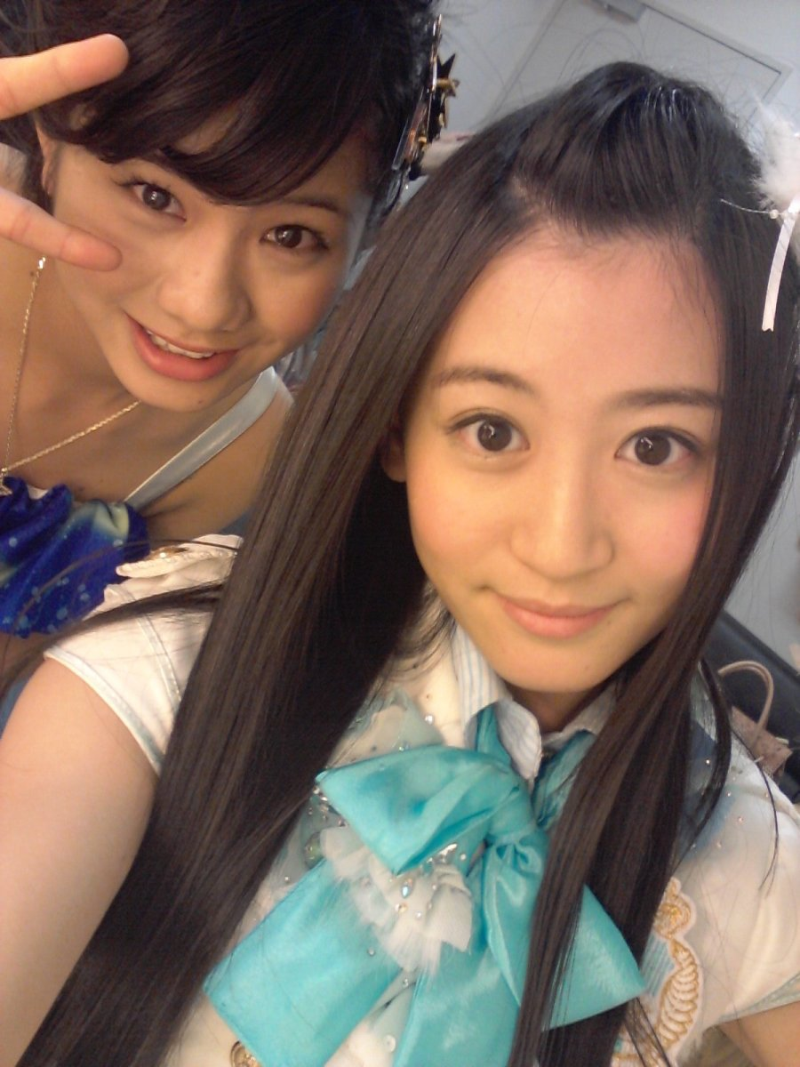 With Airi Tanigawa (left).