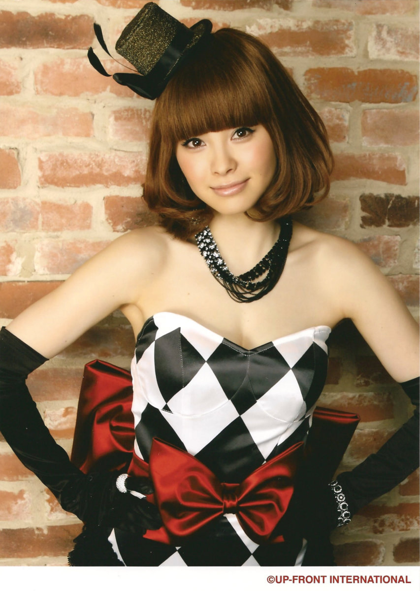 This photo of Aya Matsuura was taken back in 2010.