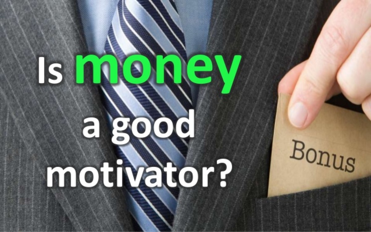 money as a motivator theory
