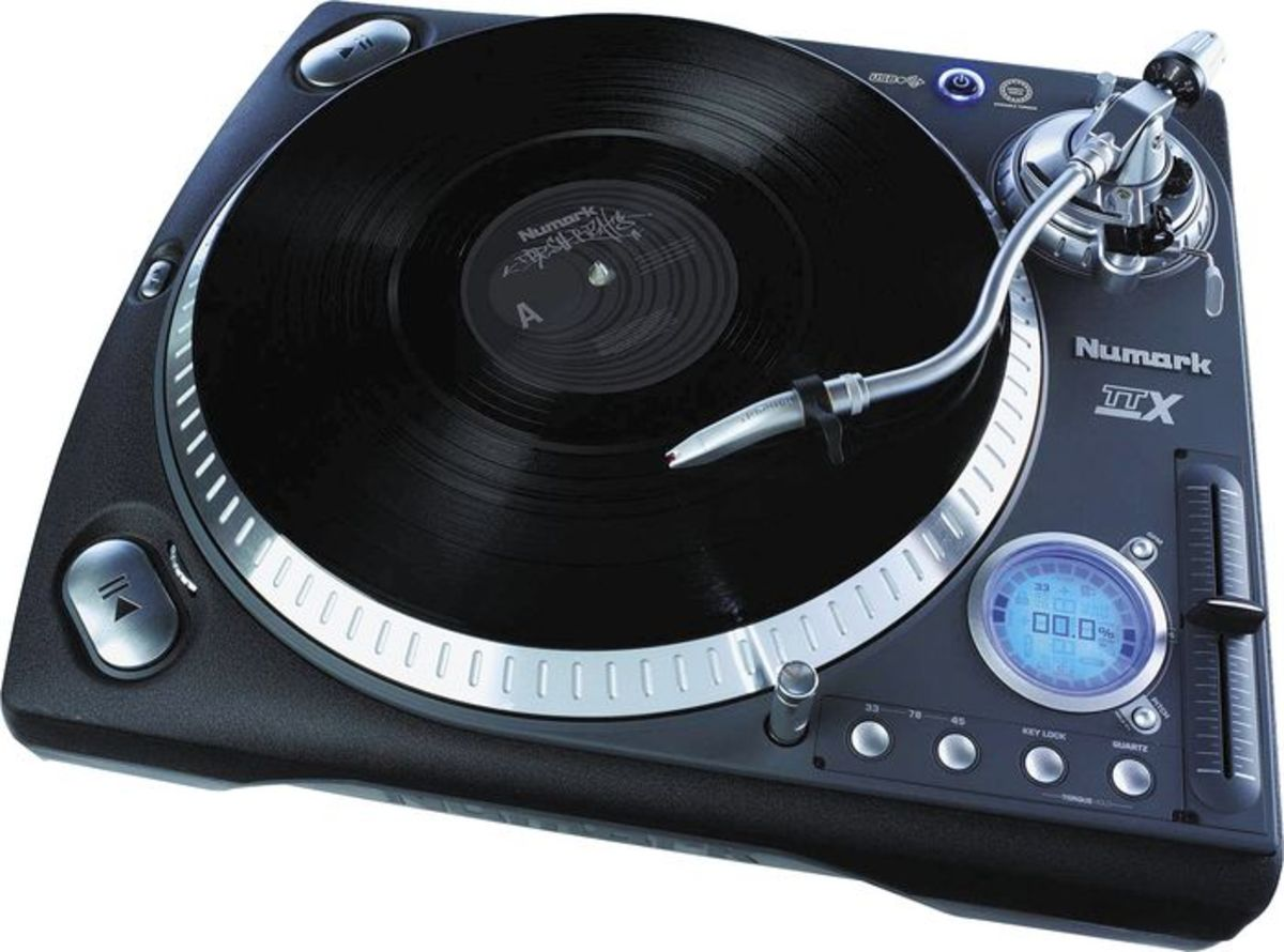 How to Rotate the Digital Display to Battlestyle on the Numark TTX Turntable