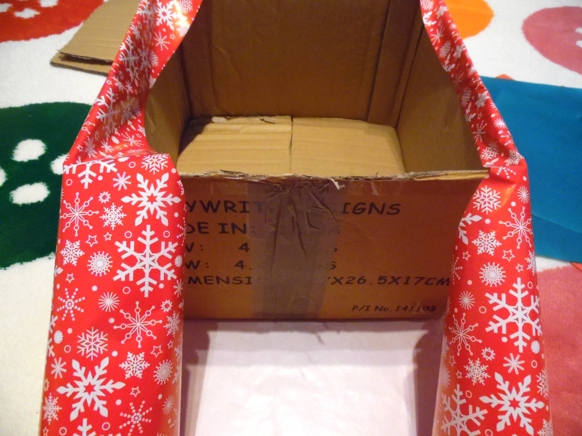 how to make a hamper box