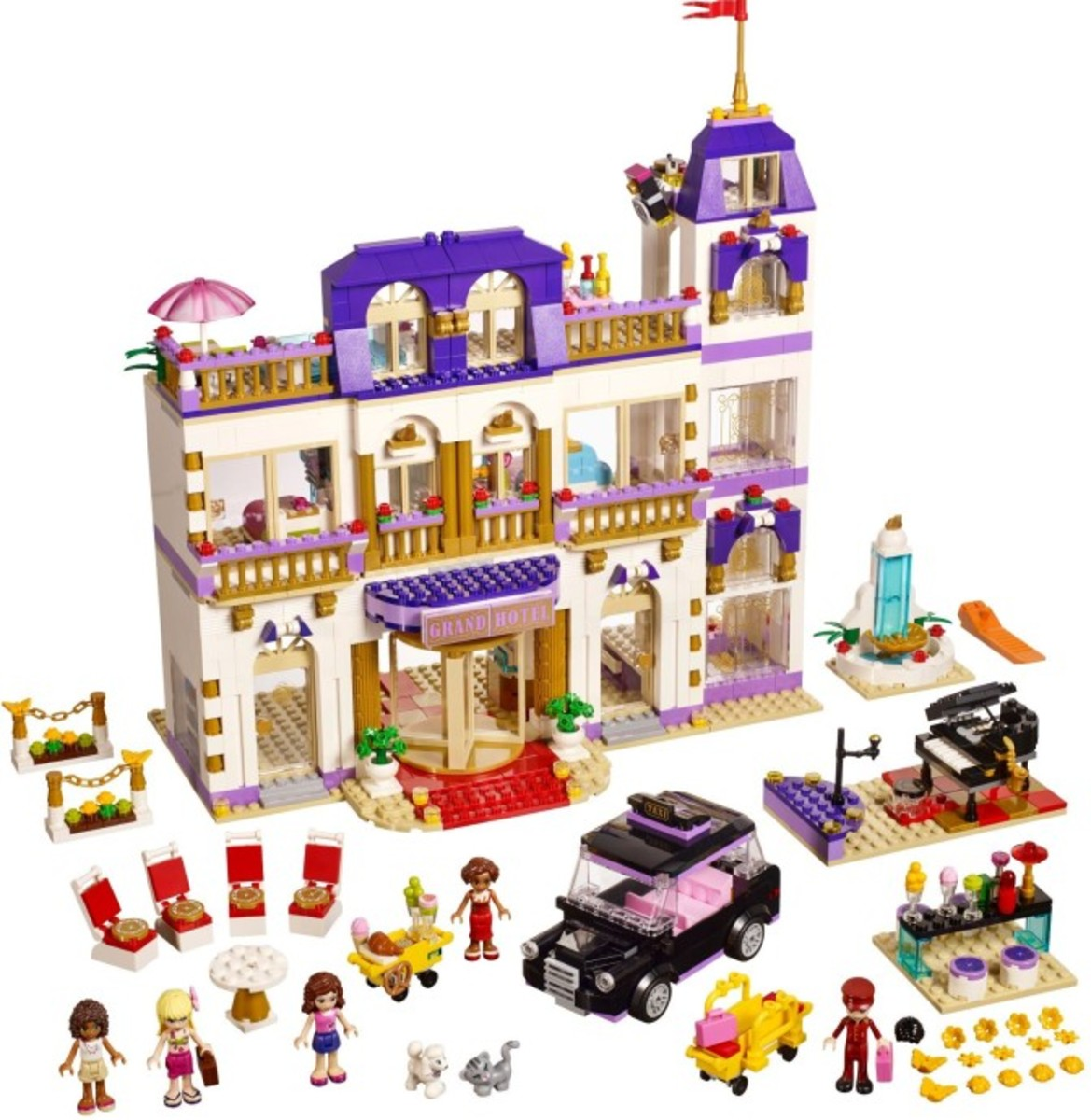 Lego Friends: ALL of the Heartlake City Sets for Girls! | HubPages