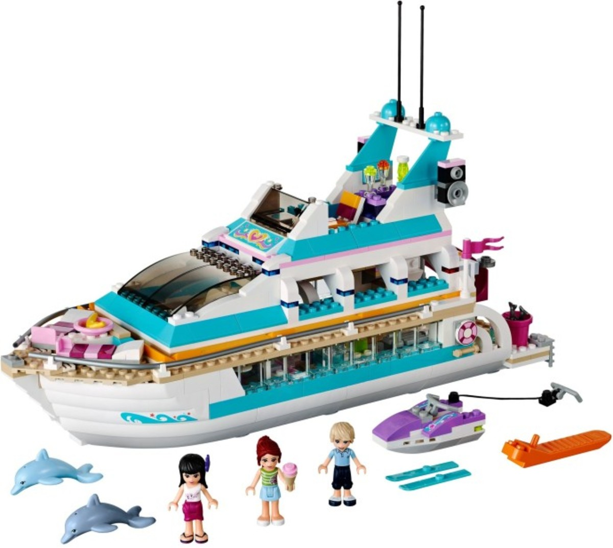 Lego Friends:  ALL of the Heartlake City Sets for Girls!