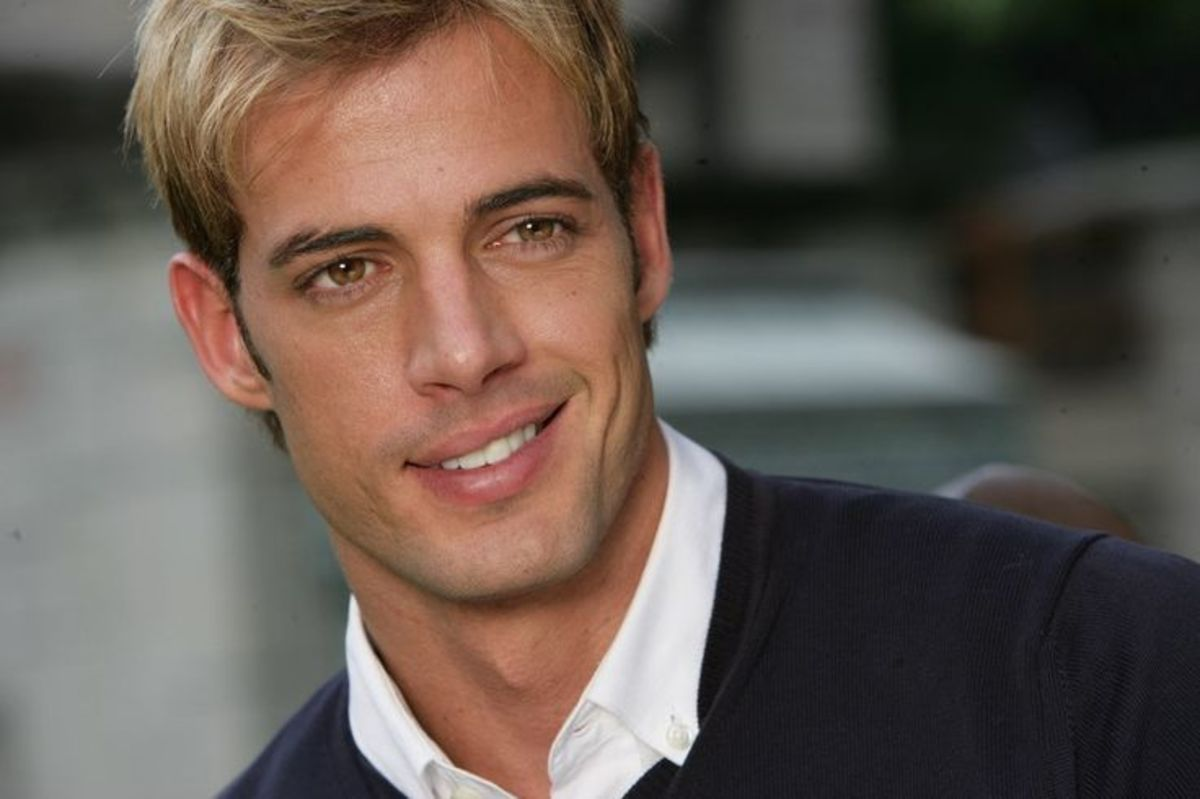 Actor, William Levy, a man with a gorgeous half-smile.