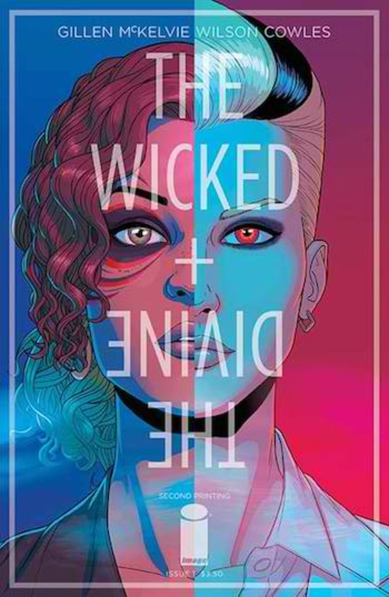 Wicked + the Divine covers are easily one of the most recognizable