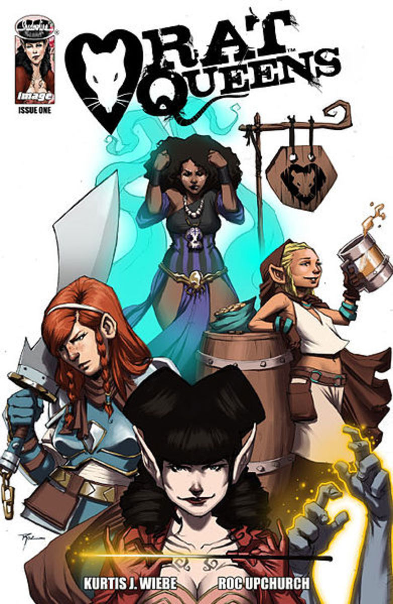Relive the days of fantasy role playing!  Rat Queens has that kind of vibe.