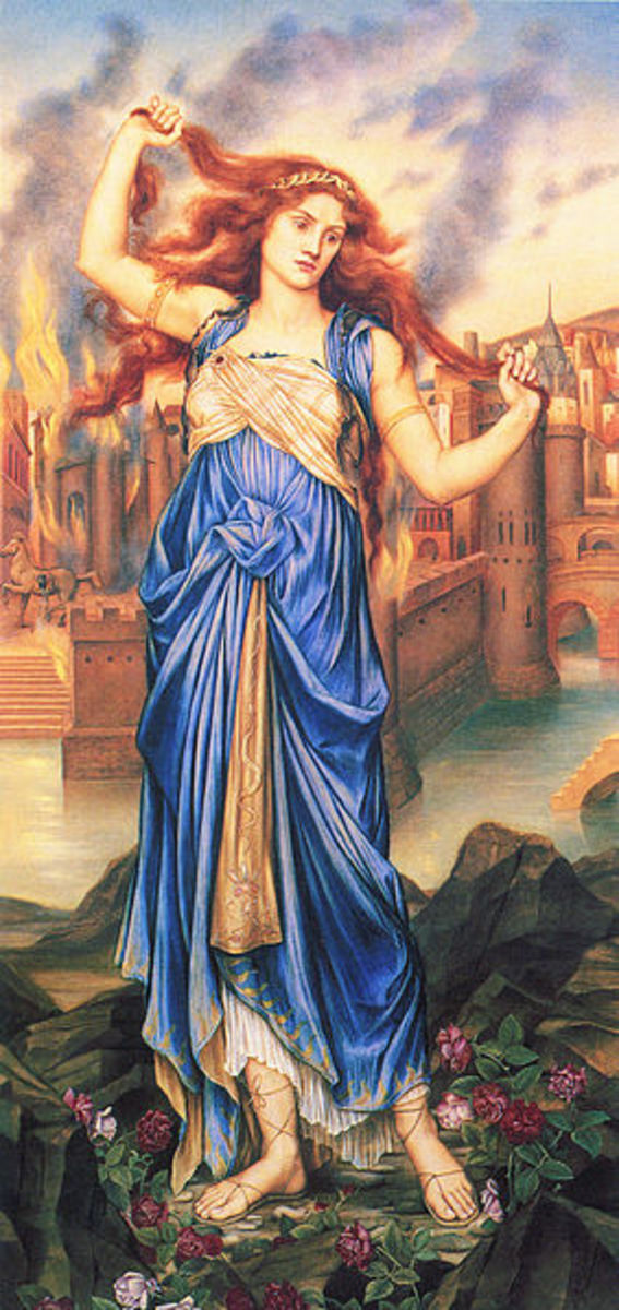 The Seer Helenus in Greek Mythology