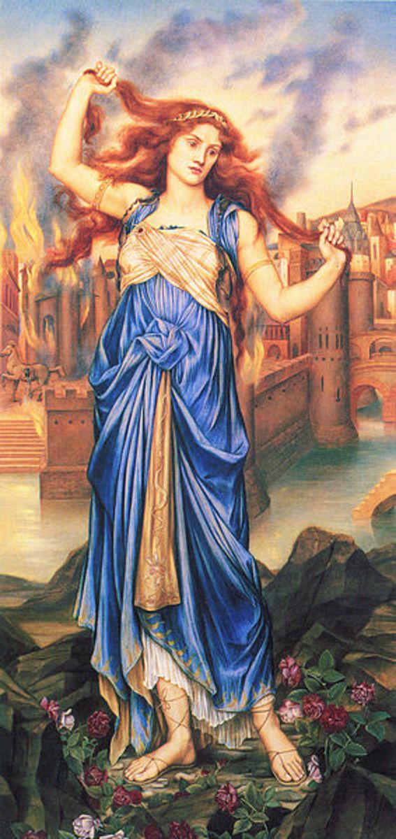 Cassandra - Evelyn De Morgan (1855–1919) -PD-art-100