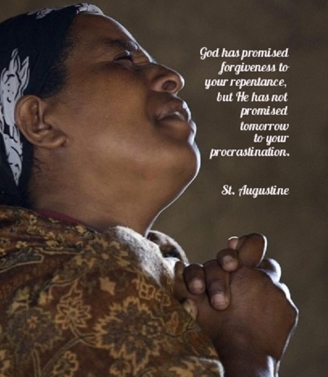God has not promised tomorrow to your procrastination.