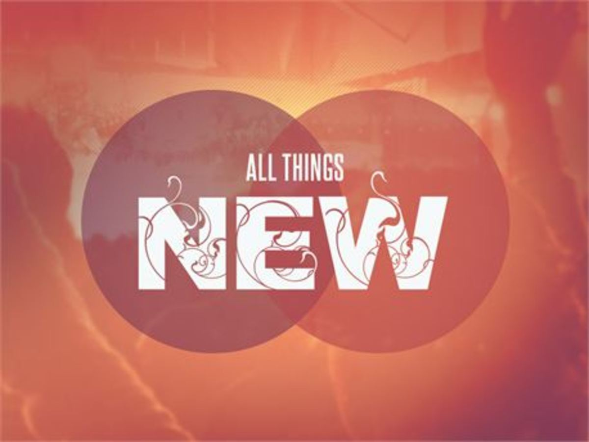 All Things New: A Poem of Revelation 21