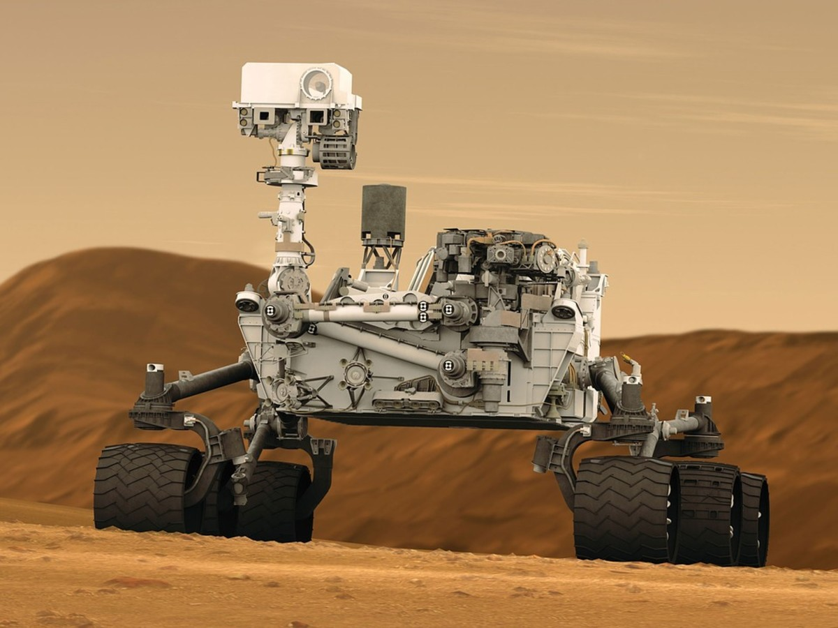 Mars Rover has a sticker price of $2.5 billion; delivery to Mars is extra.