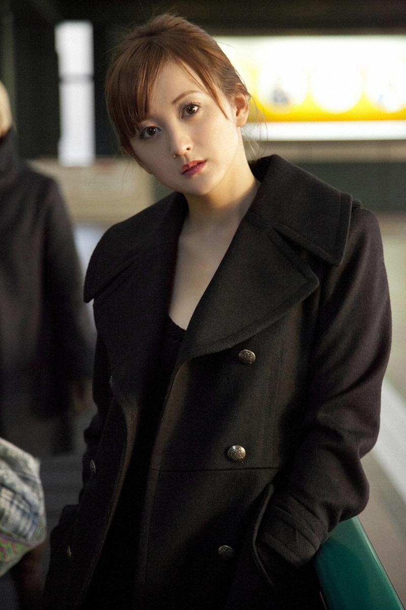 Ayaka Komatsu Beautiful Japanese Movie Actress and Swimsuit Model From Iwate Prefecture