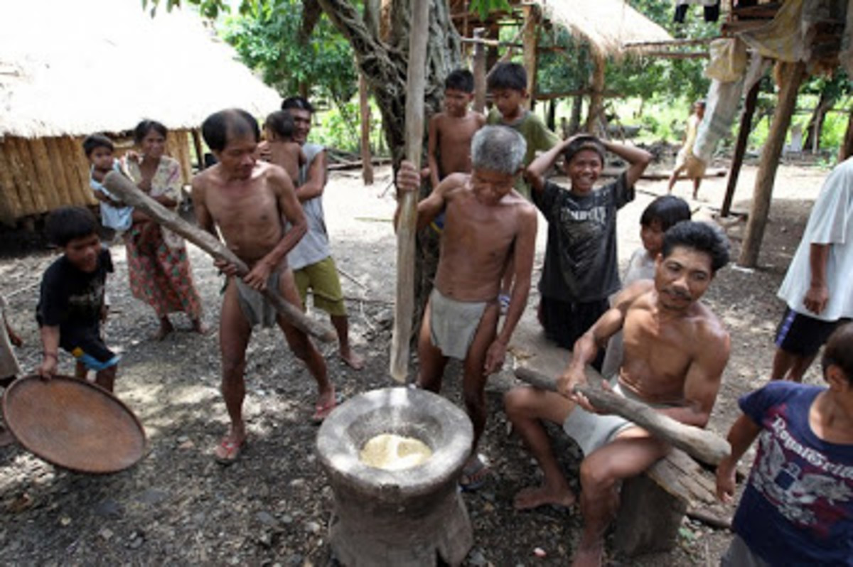 The Mangyans of Mindoro are the indigenous peace loving people living in the different parts of the island