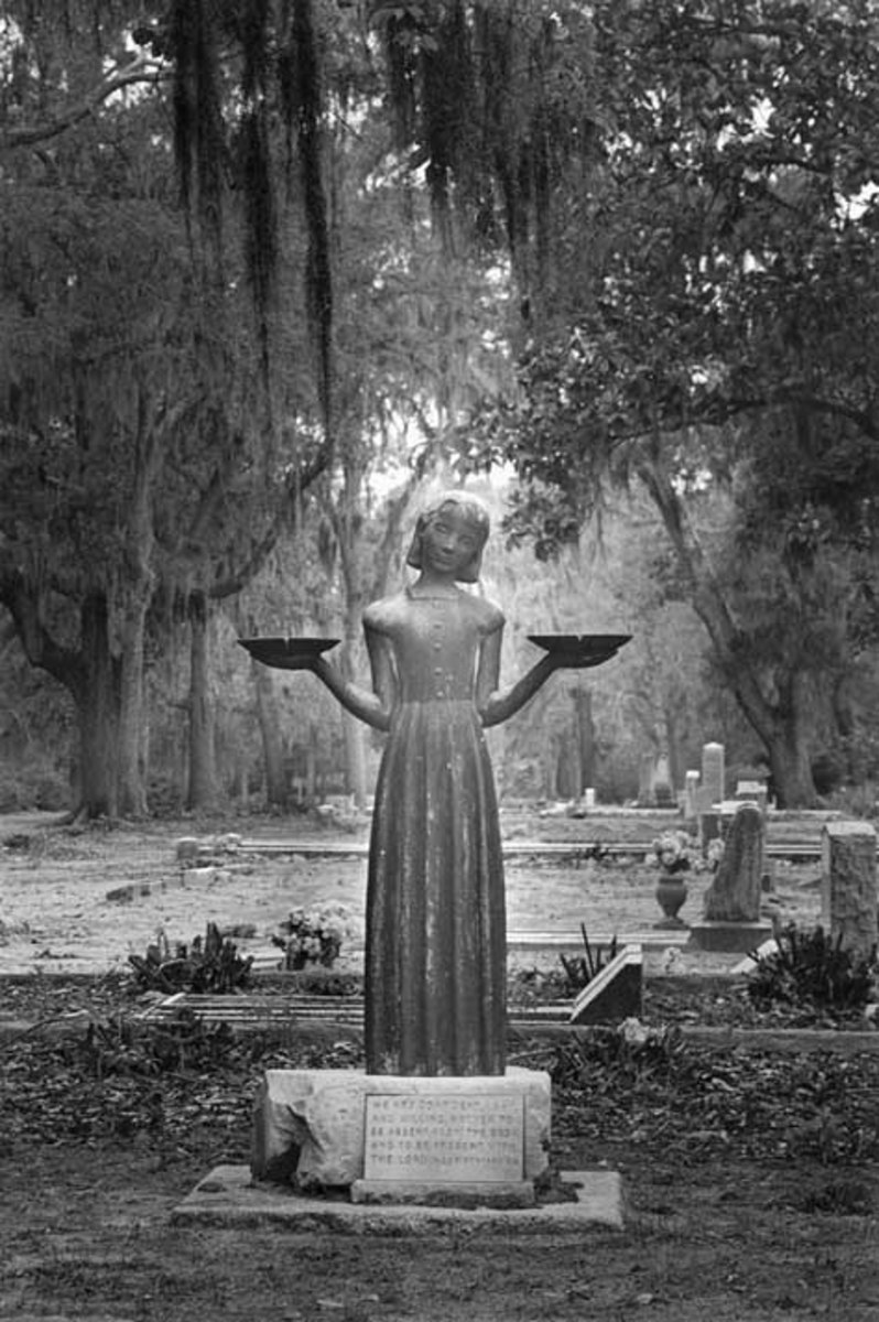 This photo by Jack Leigh graced the cover of Midnight in the Garden of Good and Evil and has since become an iconic image of Southern Gothic