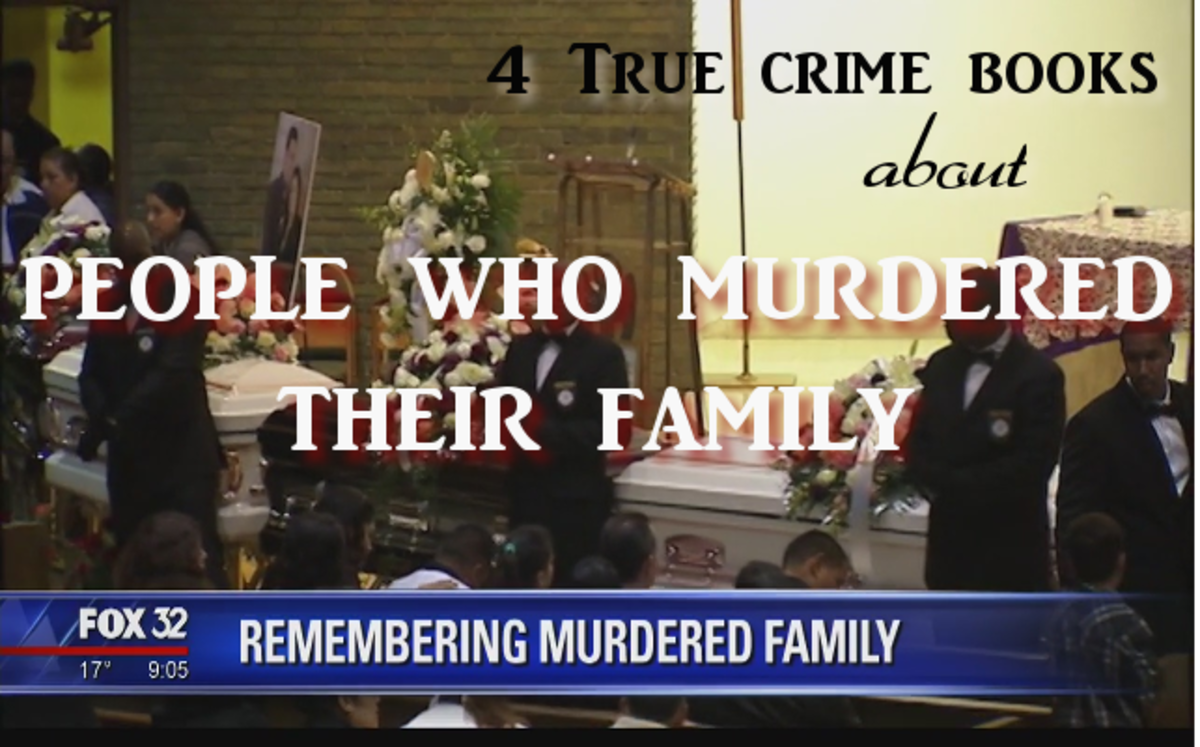 4 True Crime Books About People Who Murdered Their Family