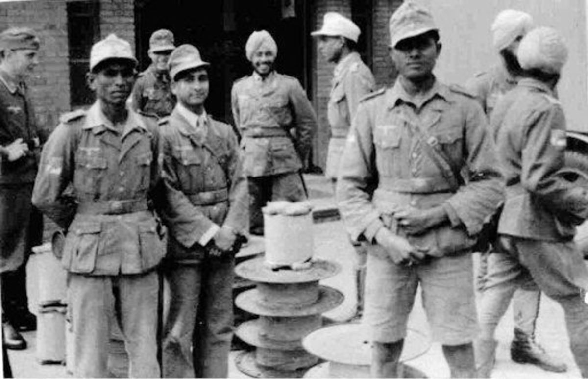 Unsung Heroes of India : The India Legion in WW II in Support oF Germany