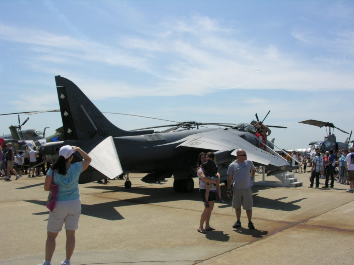 USMC AV-8B, Bu Number 164562, VMA-231, at Joint Base Andrews, May 2012.
